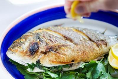 pesce fresco del giorno